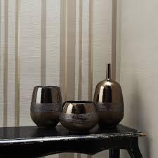 Kelly Hoppen Kitchen Designs Graham Brown Gold Kelly Hoppen Stripe Wallpaper House Of Fraser