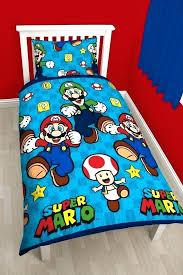super mario twin bedding sheet set super bros single duvet quilt cover reversible bedding set