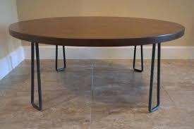 round walnut coffee table image 0 dark walnut round coffee table