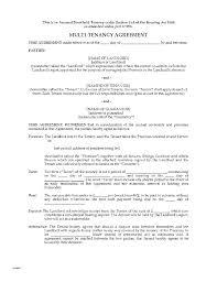 Renewal Letter Template Tenancy Agreement Renewal Template