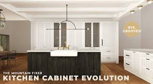 Eclectic Kitchen Cabinets New Mountain Fixer The Kitchen Cabinet Evolution Emily Henderson