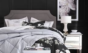 Look Sharp with These Black and White Bedroom Ideas | Pottery Barn