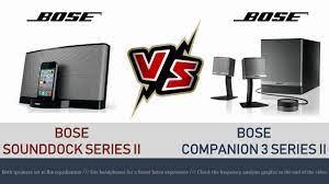 Altec Lansing ACS340 vs Bose Companion 3 Series II // Sound quality demo -  YouTube