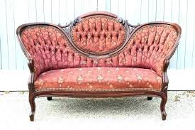 Victorian Sofa Styles The Furniture Styles Vintage Victorian Style