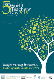 celebrating world teachers day on two writing teachers world teacher day