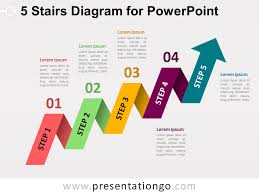 Step Chart In Powerpoint Free Stairs Powerpoint Templates Page 2 Of 2