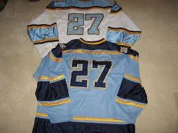 Game Worn 133420472 Bruins Ucla Hockey Jerseys--home road