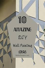 diy wall painting ideas interesting 10 amazing diy wall painting ideas