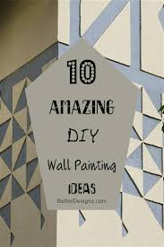 diy wall painting ideas interesting 10 amazing diy wall painting ideas