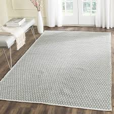 endorsed 6x9 wool area rugs com safavieh boston collection bos685e handmade grey cotton