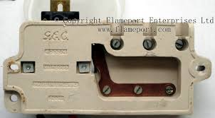 gec metal 3 way fusebox back view of ceramic gec 3 way fusebox inner