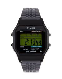 how to a watch to fit a small wrist the idle man timex black classic digital watch black men