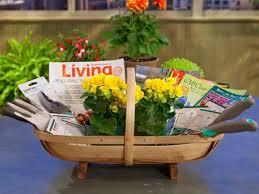 garden gift basket image credit martha stewart