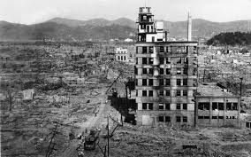 marks years of hiroshima bombing the n express file in this aug 8 1945 file photo the shell of a