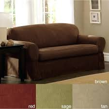 2 piece loveseat slipcover spruce up your tired sofa with this luxurious two piece sofa slipcover