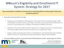Minnesota Health Care Financing Task Force Seamless Coverage