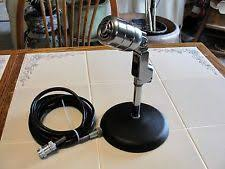 vintage 1950s electro voice microphone 630 w stand 17 cable