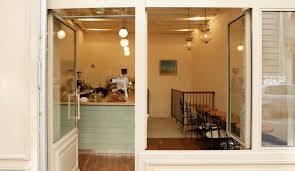coffee shop lighting. Télescope, One Of The First Third Wave Coffee Shops To Enter Scene In Paris, Led Culture Revolution, Albeit Quietly. Shop Lighting