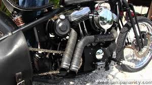 used 2003 harley davidson xl883 custom bobber with custom loud