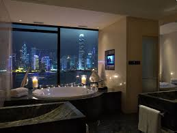 Modern Romance Design Candles Cozy Photography Skyscrapers - Luxury apartments bathrooms