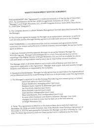 Service Agreement Website Management Service Agreement 11