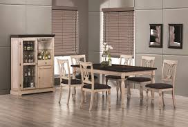 White Wood Kitchen Table Sets Coaster Camille 103581 103582 White Wood Dining Table Set In Los