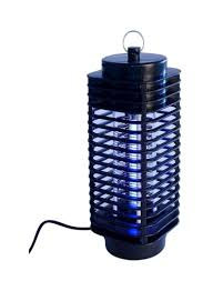 Blue Light Bug Trap Electric 220v Light Mosquito Killer Fly Bug Insect Zapper Trap Catcher Lamp Black