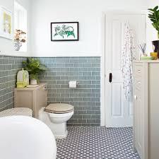 Traditional white bathroom ideas Bathroom Tile Traditional White Bathroom With Green Metro Tiles Pinterest Traditional White Bathroom With Green Metro Tiles The Bothy In