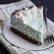 Mint Chocolate Chip Brownie Ice Cream Cake Baking A Moment