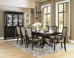accent dining room chairs stylish home design 12 seat dining table with gold leaf accented double