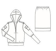 <b>Пуловер</b> в спортивном стиле - выкройка № 121 из журнала 2 ...