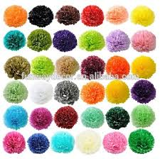 How To Make Hanging Paper Ball Decorations New Diy Hanging Paper Flower Ball Paper Pom Poms For Party Decoration