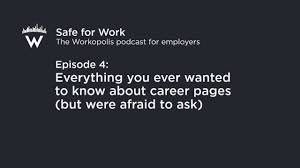 Episode 4 Everything You Ever Wanted To Know About Career Pages