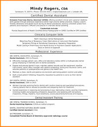 Resume For Dental Assistant Job 100 dental assistant job description for resume gcsemaths revision 50