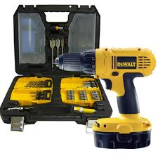 dewalt cordless drill 18v. dewalt dc729ka 18v cordless drill driver kit + 100 piece accessory set (2x batteries) 18v o