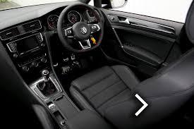 volkswagen golf leather seats