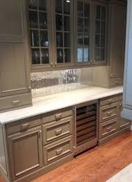 Mirrored Backsplash In Kitchen Waterworks Custom Mirror Backsplash Greenstone Development