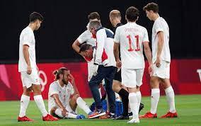 التشخيص المبدئي لإصابة مينجيزا بعد مباراة مصر وإسبانيا