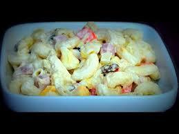 filipino macaroni salad filipino food