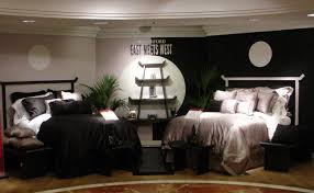 waterford bedding custom designed props and furniture add to the the ying and yang themed display bloomingdale s new york