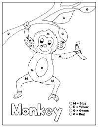 A board game to use for revision of the first lessons' learning. Alphabet Coloring Pages Set 3 Letters M D G O How Wee Learn