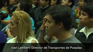 Ivan Lambert, Director de Transportes de Posadas - YouTube
