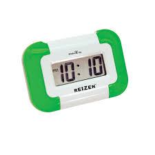 reizen shake u up vibrating compact travel alarm clock