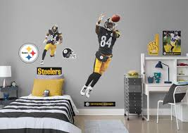 antonio brown life size officially licensed nfl removable wall decal fathead wall decal