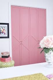 easy accent wall treatment ideas closet door bifoldcloset door handleswood
