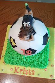 How To Decorate A Soccer Ball Cake Girls Soccer Ball Cake CakeCentral 62