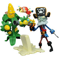 diamond select toys plants vs zombies garden warfare 2 select kernel corn vs captain deadbeard action figure com