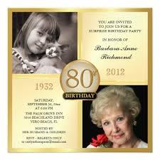 Grandmother Free Printable 80th Birthday Invitations Free