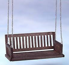dollhouse outdoor furniture. Dollhouse Outdoor Furniture. Cla74081walnutswingjpg 26193 Bytes Intended Furniture A