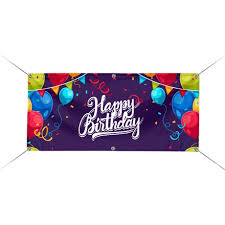 happy birthday banners personalized custom happy birthday banners at cheap price best of signs